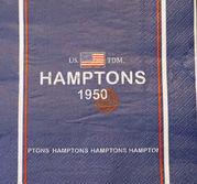 Hamptons blå