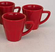 Röd mugg 12 cl
