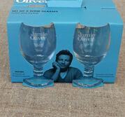 Jamie Oliver vinglas på fot 4 -pack