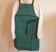 Bröstlappsförkläde dam Grönt