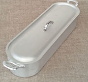 Fiskpanna aluminium 55 cm