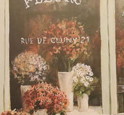 Glasunderlägg Le Fleuriste