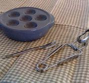 Snigelfat, tång och gaffel i samma paket, spara 25 :-